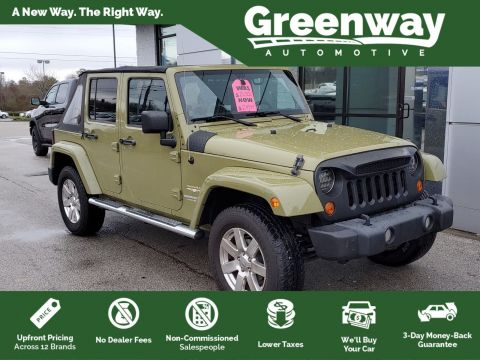 Pre-Owned 2013 Jeep Wrangler Unlimited Unlimited Sahara
